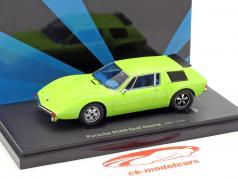 Porsche 914/6 Graf Coertz year 1970 lime 1:43 AutoCult