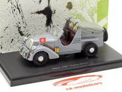 Steyr 100 Asien-Steyr année de construction 1934 gris 1:43 AutoCult