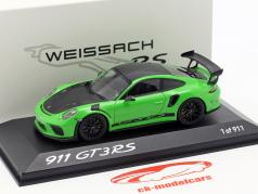 Porsche 911 (991) GT3 RS Weissach Package 2018 lizardgrün 1:43 Minichamps