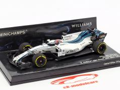 Robert Kubica Williams FW40 #40 formula 1 prova Abu Dhabi 2017 1:43 Minichamps