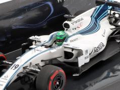 Felipe Massa Williams FW40 #19 Last GP Abu Dhabi formula 1 2017 1:43 Minichamps