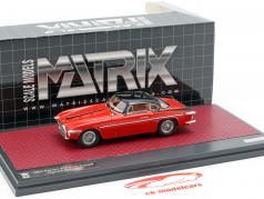 Ferrari 212 Inter Coupe Vignale year 1953 red / black 1:43 Matrix