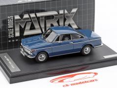 BMW 1602 Baur Coupe année de construction 1967 bleu 1:43 Matrix