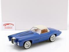 Bugatti T101C Exner-Ghia Closed Top Baujahr 1966 blau 1:18 Matrix