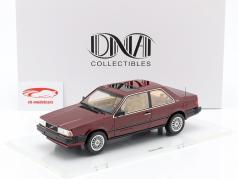 Volvo 780 année de construction 1986 rouge métallique 1:18 DNA Collectibles
