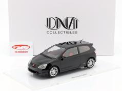 Honda Civic Type R EP3 année de construction 2004 noir 1:18 DNA Collectibles