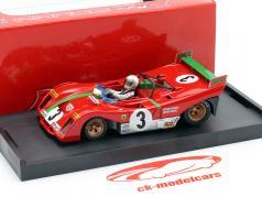 Ferrari 312 PB #3 gagnant Targa Florio 1972 Sandro Munari 1:43 Brumm