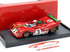 Ferrari 312 PB #3 Winner Targa Florio 1972 Arturo Merzario 1:43 Brumm