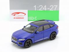 Jaguar F-Pace Baujahr 2016 blau 1:24 Welly