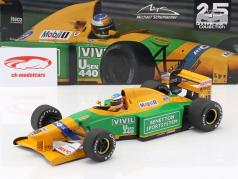 Michael Schumacher Benetton B192 #19 3 ° Italia GP F1 1992 1:18 Minichamps