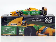 Michael Schumacher Benetton B192 #19 第3 意大利 GP F1 1992 1:18 Minichamps