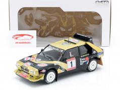 Lancia Delta S4 #1 gagnant Rallye de Asturias 1986 Tabaton, Tedeschini 1:18 Solido