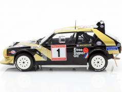 Lancia Delta S4 #1 勝者 Rallye de Asturias 1986 Tabaton, Tedeschini 1:18 Solido
