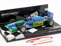 Johnny Herbert Benetton B194 #6 giapponese GP formula 1 1994 1:43 Minichamps