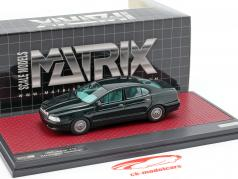 Jaguar V12 Kensington Italdesign Concept year 1990 dark green metallic 1:43 Matrix