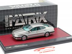 Jaguar V12 Kensington Italdesign Concept year 1990 silver 1:43 Matrix
