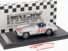 Mercedes-Benz 300 SLR #722 winnaar Mille Miglia 1955 Moss, Jenkinson 1:43 Matrix