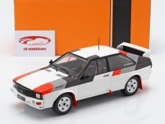 Audi Quattro gruppe B Rallye 1982 hvid 1:18 Ixo