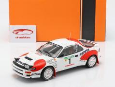 Toyota Celica GT-4 (ST185) #1 3th Rallye Portugal 1992 Sainz, Moya 1:18 Ixo