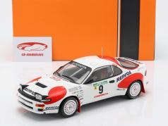 Toyota Celica GT-4 (ST185) #9 4 ° Rallye Portogallo 1992 Alen, Kivimäki 1:18 Ixo
