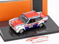 Fiat 131 Abarth #12 7th Rallye Monte Carlo 1979 Mouton, Conconi 1:43 Ixo