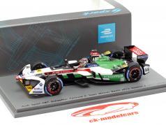 Daniel Abt Audi e-tron FE04 #66 vencedor Berlim ePrix fórmula E 2017/18 1:43 Spark