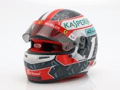 Charles Leclerc Ferrari SF90 #16 式 1 2019 ヘルメット 1:2 Bell