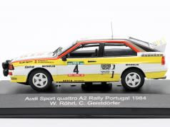 Audi Sport quattro A2 #4 Rallye 葡萄牙 1984 Röhrl, Geistdörfer 1:43 CMR