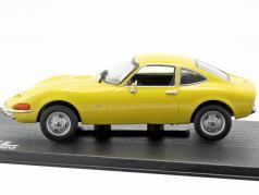 Opel GT año de fabricación 1968 amarillo 1:43 Ixo Altaya