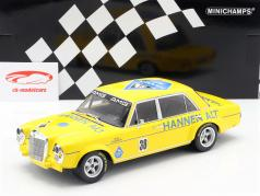 Mercedes-Benz 300 SEL 6.8 #38 final de temporada Hockenheim 1971 Heyer 1:18 Minichamps