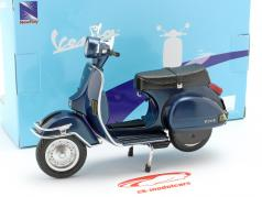 Vespa P200E year 1978 dark blue 1:12 New Ray