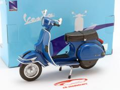 Vespa P200E Year 1978 blue 1:12 New Ray