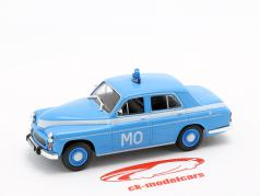 Warszawa 223 politie blauw in blaar 1:43 Altaya