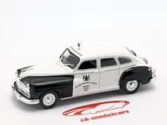 Chrysler De Soto Ontario Police branco / preto em bolha 1:43 Altaya