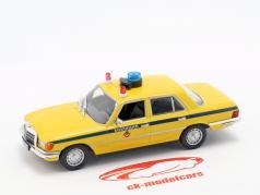 Mercedes-Benz W116 politie geel / blauw 1:43 Altaya