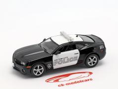 Chevrolet Camaro SS Haltom City política negro / blanco en ampolla 1:43 Altaya