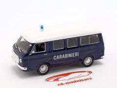 Fiat 238 Minivan Carabinieri azul / blanco en ampolla 1:43 Altaya