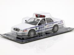 Ford Crown Victoria NYPD weiß / blau in Blister 1:43 Altaya