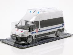 Ford Transit CRS Police Nationale weiß in Blister 1:43 Altaya