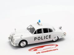 Jaguar MK II politiek wit in blaar 1:43 Altaya