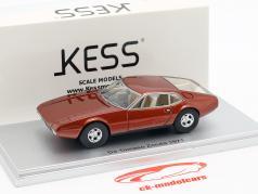 De Tomaso Zonda année de construction 1971 bronze métallique 1:43 KESS