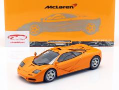 McLaren F1 Road Car Year 1993 orange 1:18 Minichamps