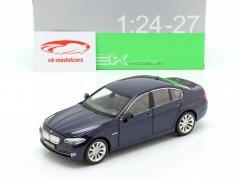 BMW 535i Baujahr 2010 dunkelblau metallic 1:24 Welly