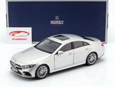 Mercedes-Benz CLS-klasse (C257) bygget i 2018 sølv 1:18 Norev
