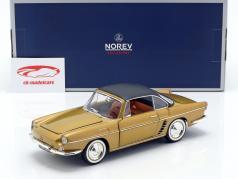 Renault Floride année de construction 1959 Bahamas jaune métallique 1:18 Norev