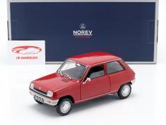 Renault 5 año de construcción 1972 rojo 1:18 Norev