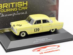 Ford Zephyr Six #139 BTCC Champion 1959 Jeff Uren 1:43 Atlas