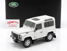 Land Rover Defender 90 white 1:18 Kyosho