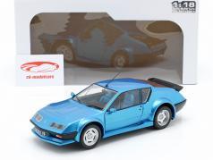 Alpine A310 Pack GT año de construcción 1983-85 azul metálico 1:18 Solido
