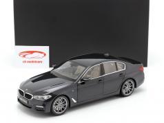 BMW 5 Series (G30) Bouwjaar 2017 saffier zwart 1:18 Kyosho